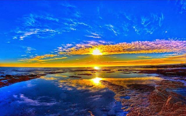 Foto Panorama Sunset yang Mengagumkan-3
