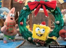 in nickelodeons brand new holiday special its a spongebob christmas plankton vows to get his christmas wish the krabby patty formula by turning