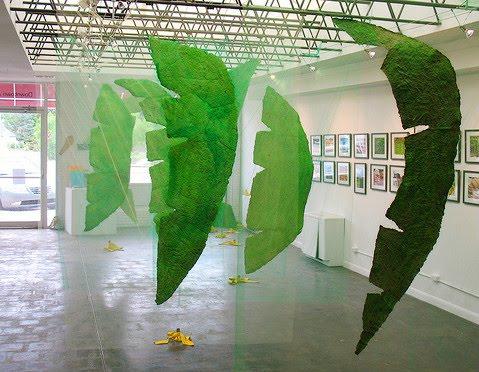art of the banana leaf hawaiian time machine