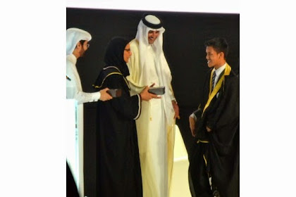 Cacat Tak Halangi Rakhmat Raih IPK 3,93 di Universitas Qatar