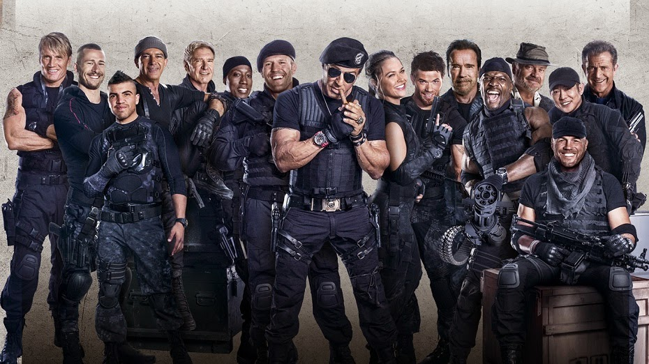 Box Office Expendables Late Nights Unimpressive