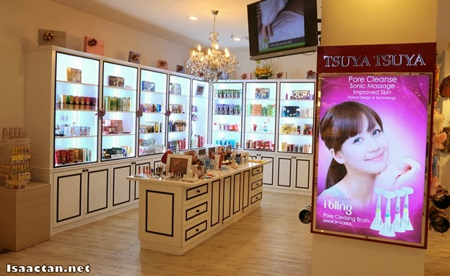 The beauty section of Korean Lifestyle & Kids Boutique