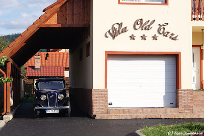 vila OldCars Cristian Brasov