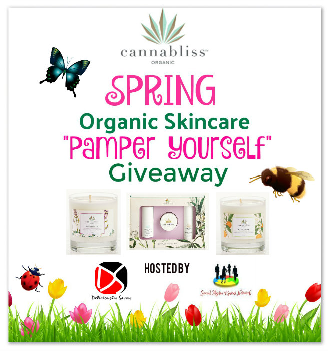 Canabliss Skincare Giveaway