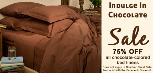 75% Off Chocolate Covered Bed Linens - Jennifer Adams Home