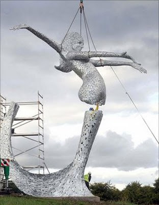 the hideous Arria installation at Cumbernauld