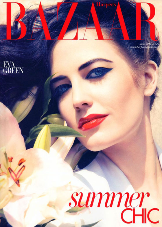 Harper's Bazaar UK junio 2011