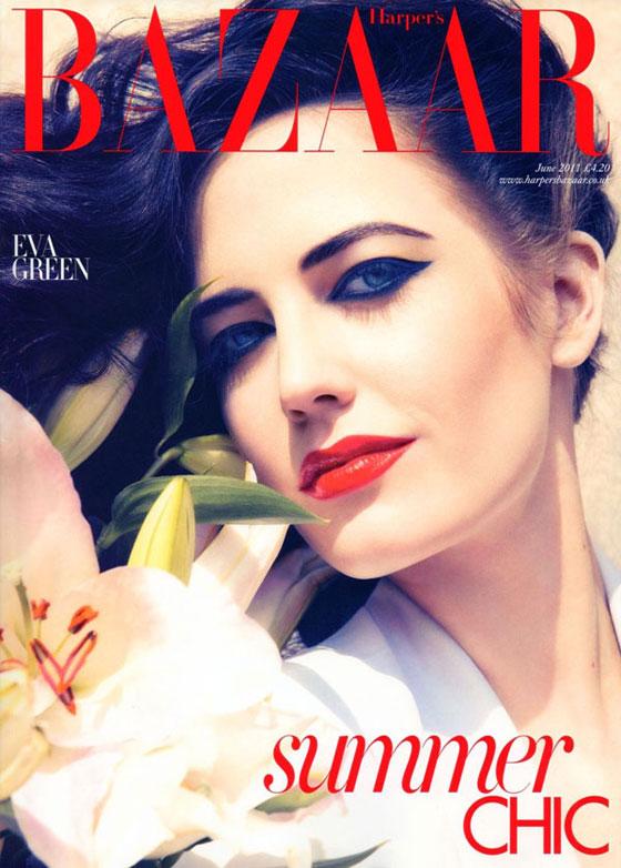 Harper's Bazaar UK junio 2011