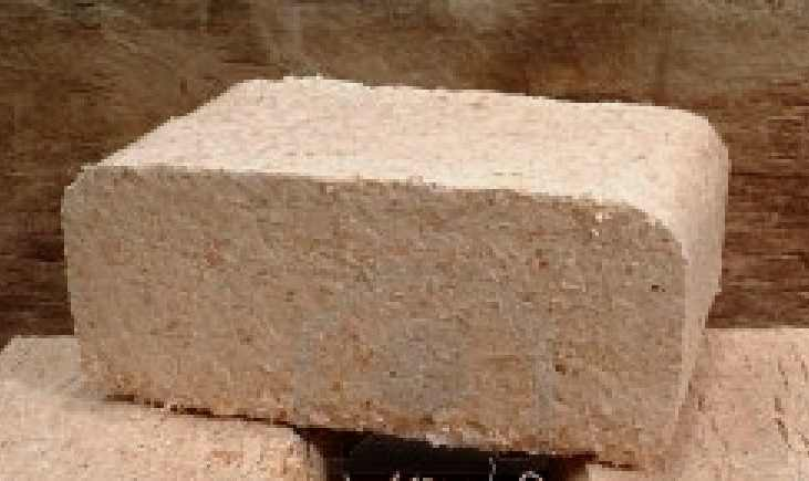 Compressed Wood Bricks ~ Sustainable energy author ireland seai solid fuels