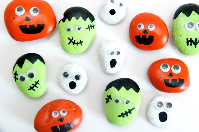 Hallowen paint craft