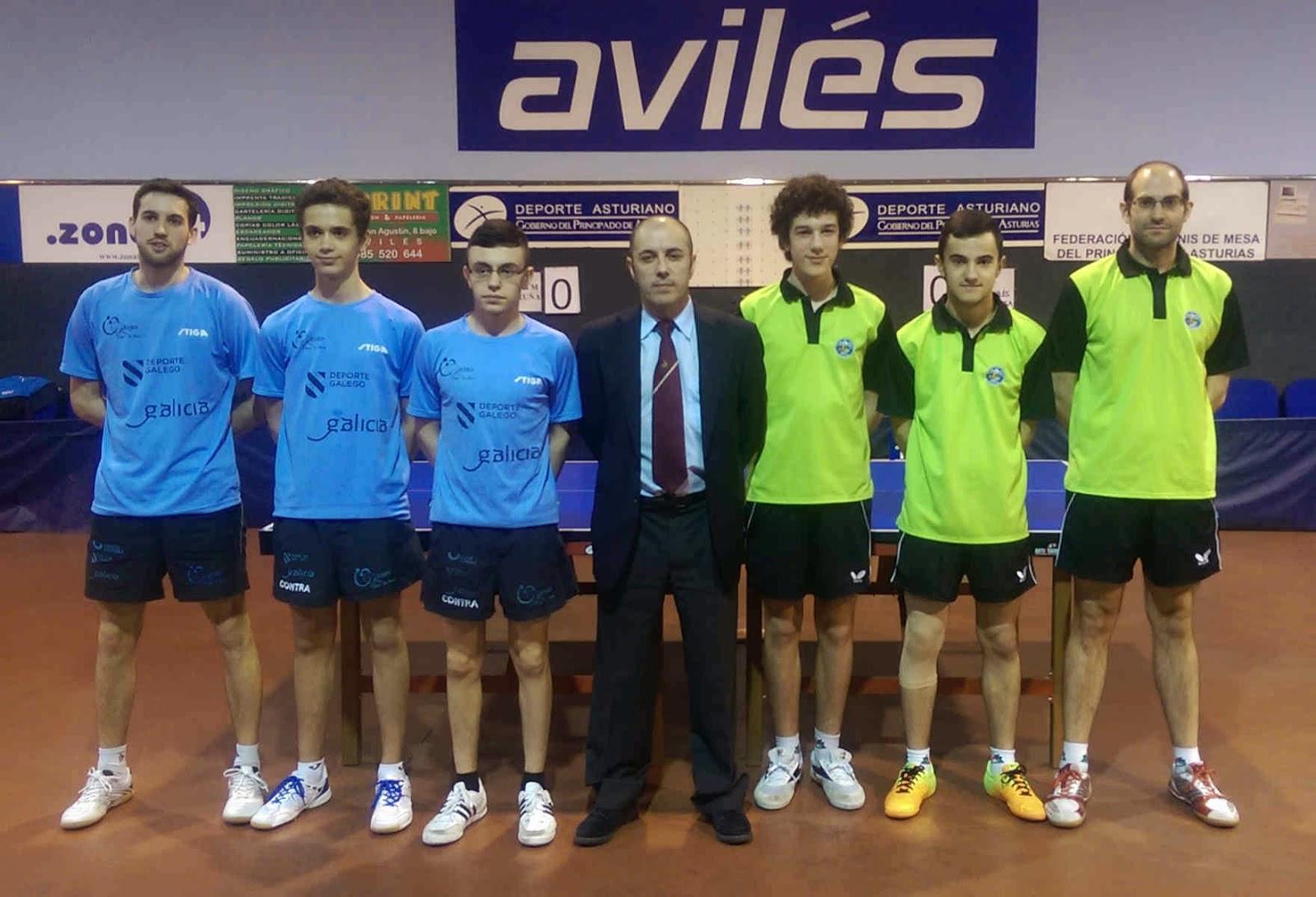 Federaci n de tenis de mesa del principado de asturias - Aviles tenis de mesa ...