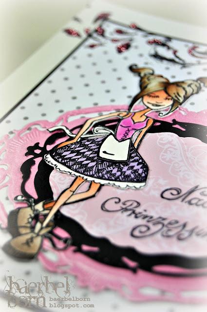 cute girlie stamp