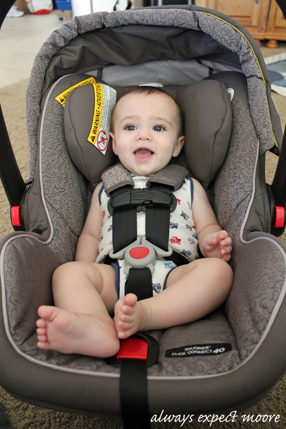 Keep Your Cuties Safe – Rear-facing until 2 years