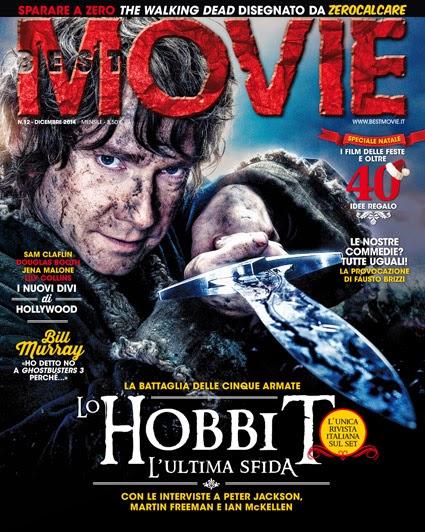 L'ultimo viaggio dello Hobbit: Best Movie di dicembre vi porta in esclusiva sul set di La battaglia delle cinque armate