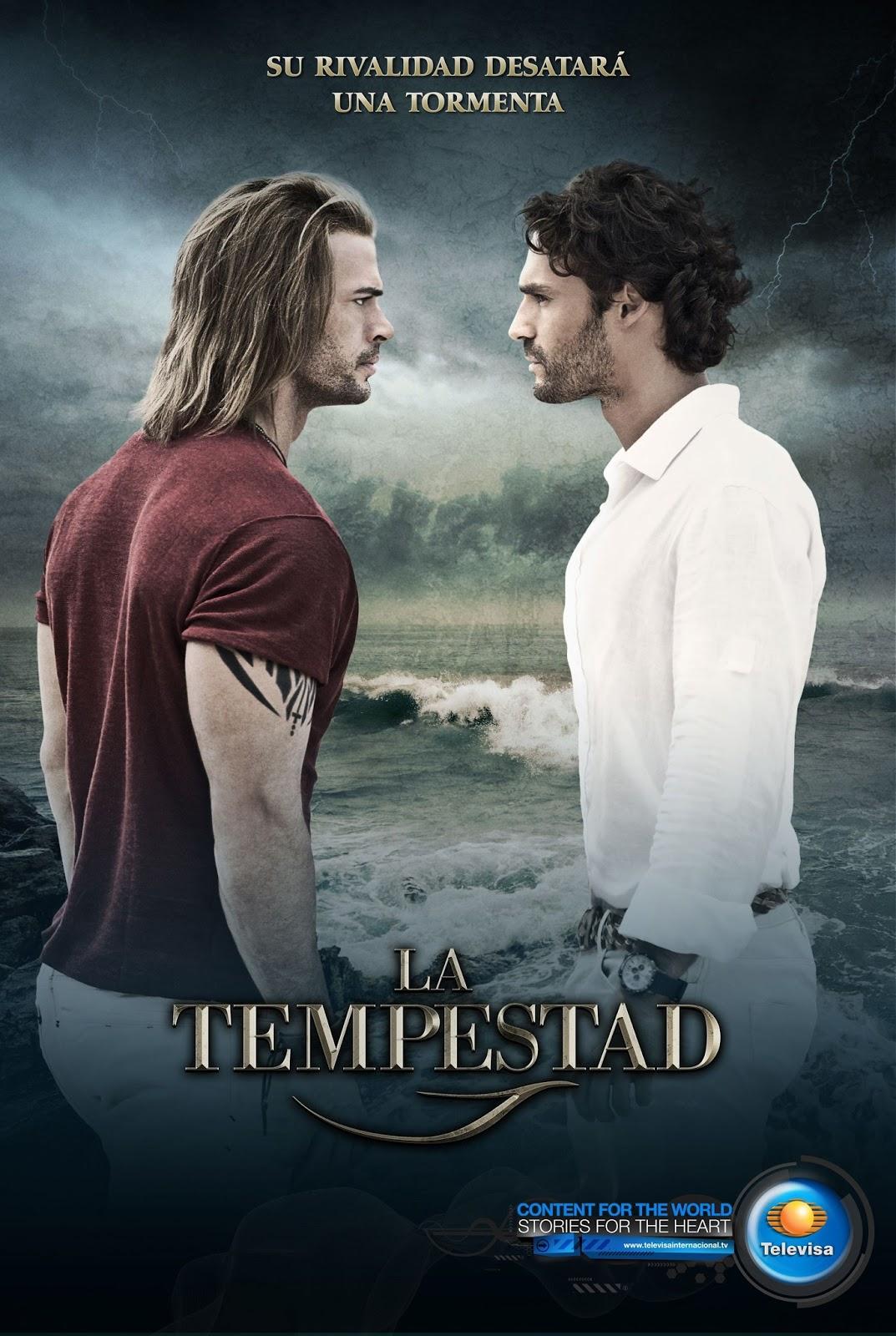 Posters oficiales de La Tempestad