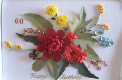 Paper lace n card nook quilled australian wild flowers made with quilled australian wild flowers made with stampin up bigz dzs mightylinksfo