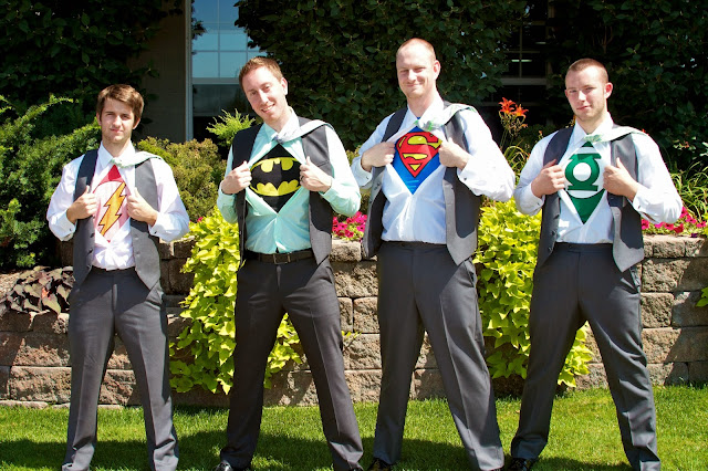 Wedding Day Details - Super Hero T-Shirts. Tammy Sue Allen Photography, Lansing Michigan.