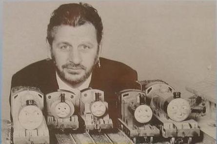 Happy 72nd Birthday To Ringo Starr Thomas Is A Tank Engine