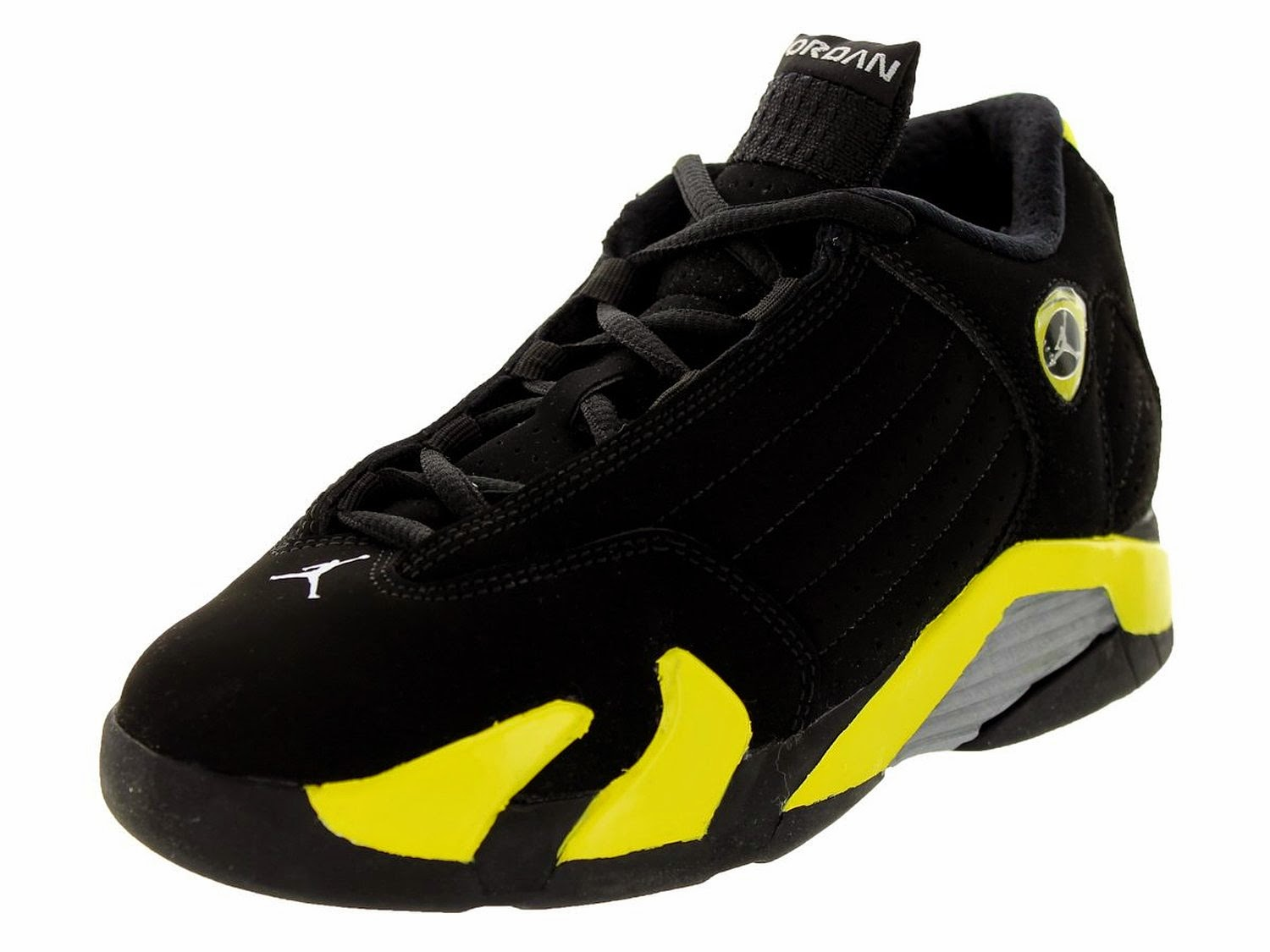f6e5997b68ba48 Nike Jordan Kids Air - Find the best Jordan s product like Nike Jordan Kids  Air Jordan 14 Retro BG Black Vibrant Yellow White Basketball Shoe 7 Kids US.