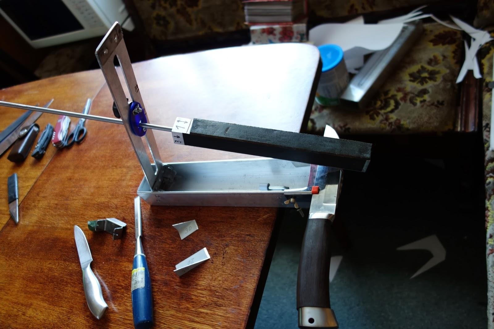 Все о самодельных точилках для ножей