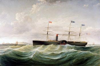 Samuel Walter, Steamship Baltic Off Holyhead