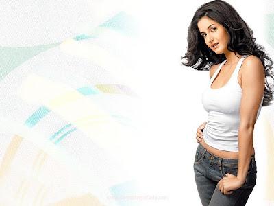Bollywood Glam Girl Katrina Kaif Wallpaper