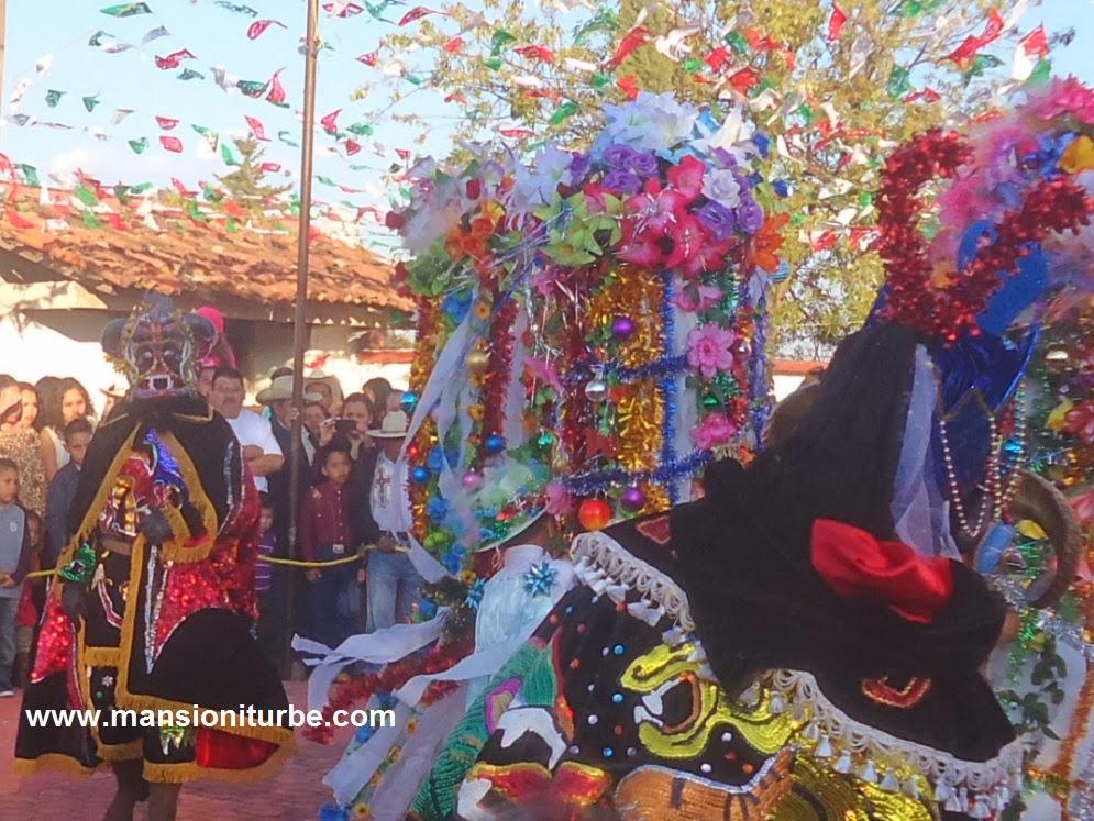 Fiesta de los Negritos en Tocuaro