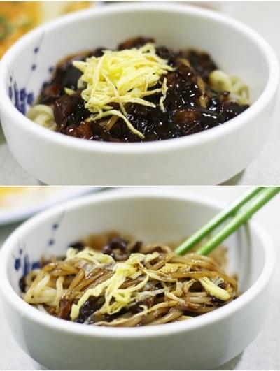 mi tuong den han quoc Tự tay làm món mì tương đen Hàn Quốc