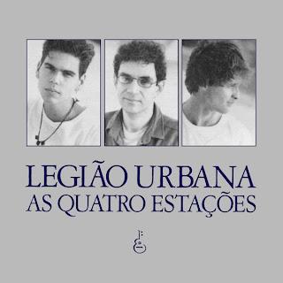 Legião Urbana As Quatro Estações CD Capa