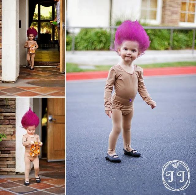 disfraz sencillo niña halloween