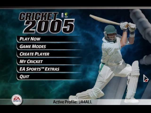 EA Sports Cricket 2005 PC Game