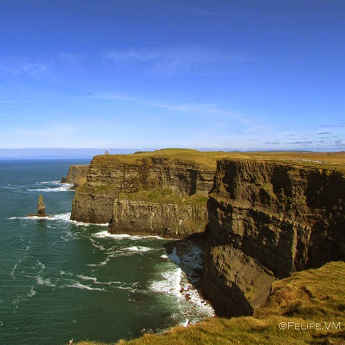 Cliffs of moher view