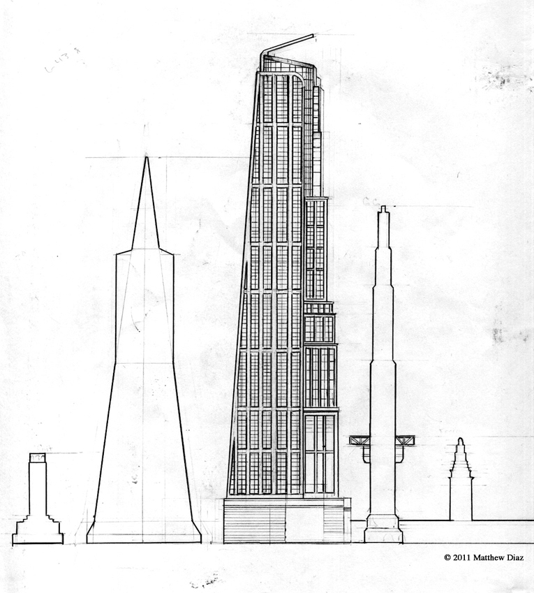 architectural drawings of skyscrapers. Simple Skyscrapers Sketchbook Show And Tell 5 Skyscraper Drawings For Architectural Of Skyscrapers P