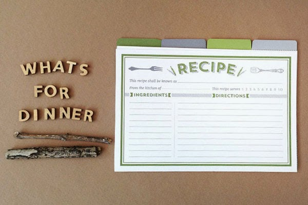20 Recipe Cards to Get You Inspired - Jayce-o-Yesta