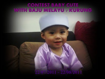 """Contest Baby Cute With Baju Melayu/Kurung"""
