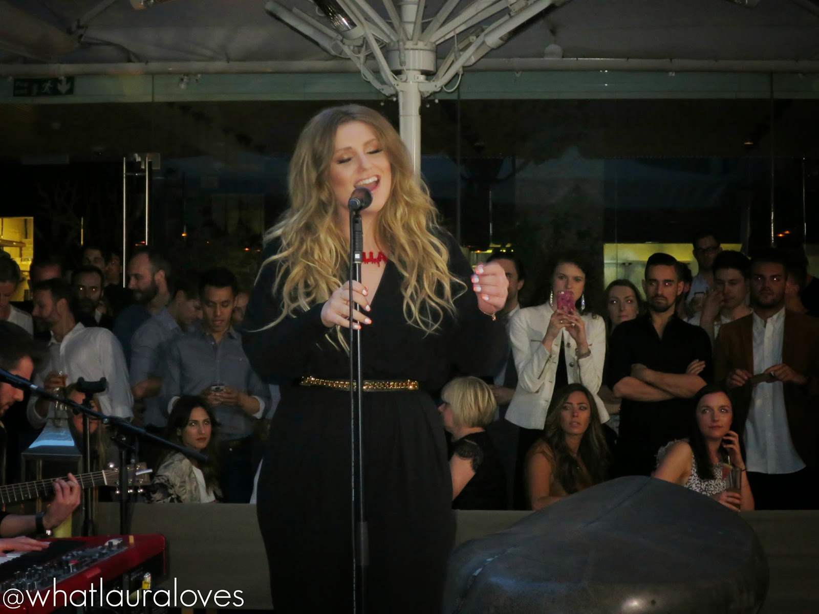 Ella Henderson singing live private gig