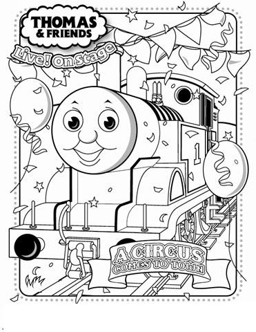 thomas train coloring pages - photo#30