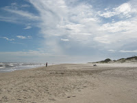 beach at uruguay canelones