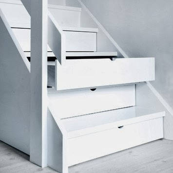 Drawer Stairs : Utilizing Stairs Space