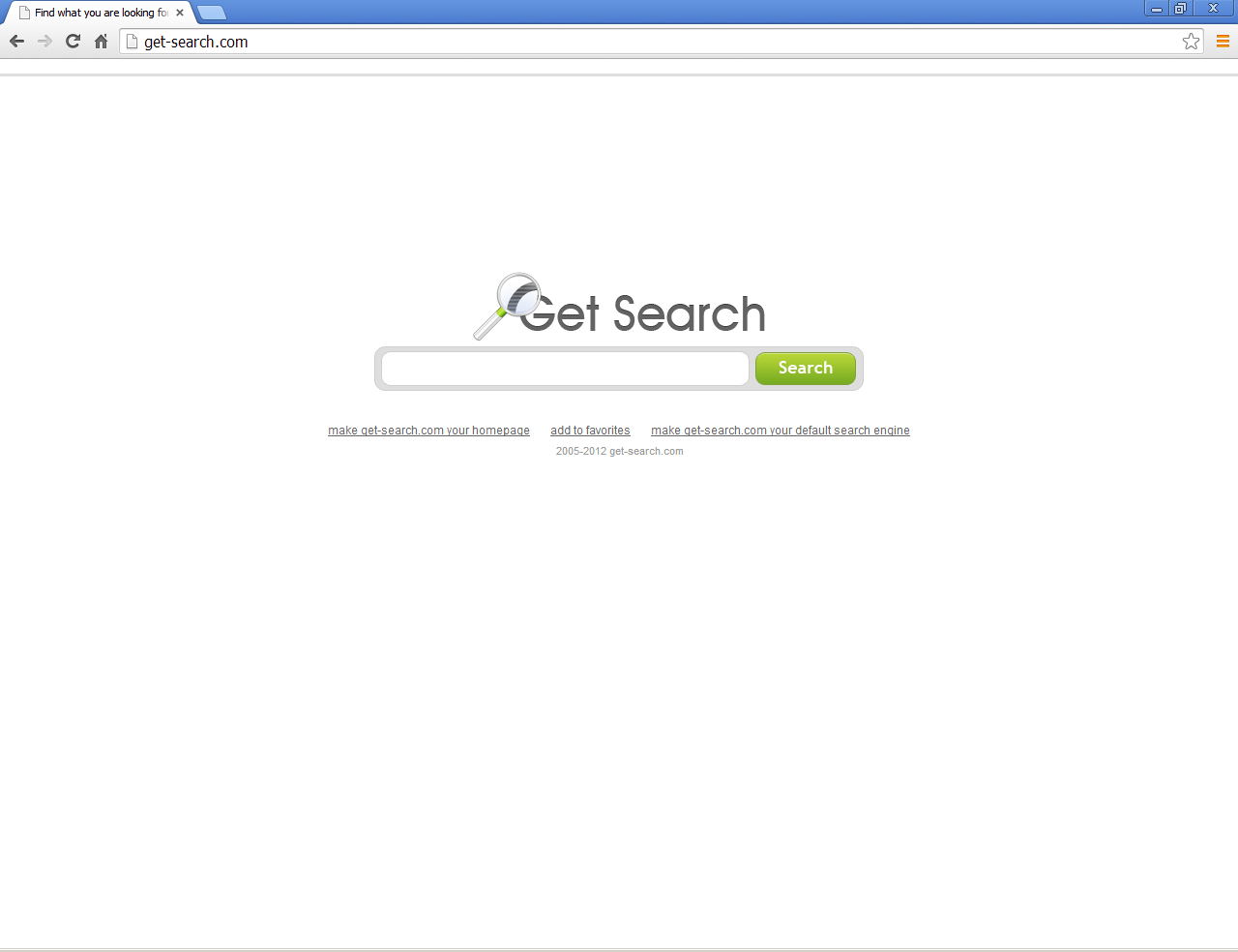 Get-Search.com y Get Search Toolbar