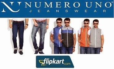 Flipkart Limited Period Offer: Flat 50% Off on Numero Uno & Mufti Jeans & Jackets
