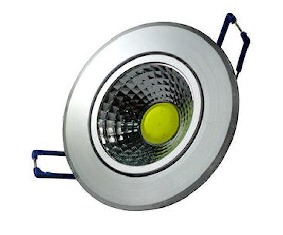 Mini Faretto led da incasso 3W LUCE FREDDA LUCE CALDO LED COB 24W (4 MODELLI)...