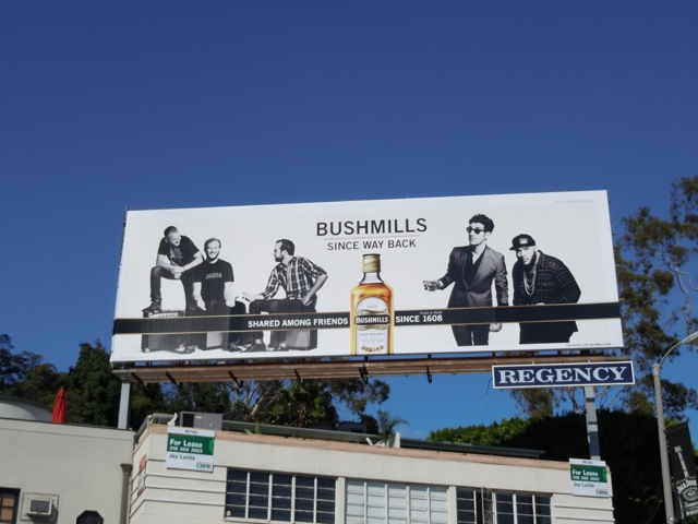 Bushmills Whisky billboard