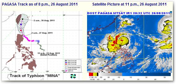 typhoon mina update
