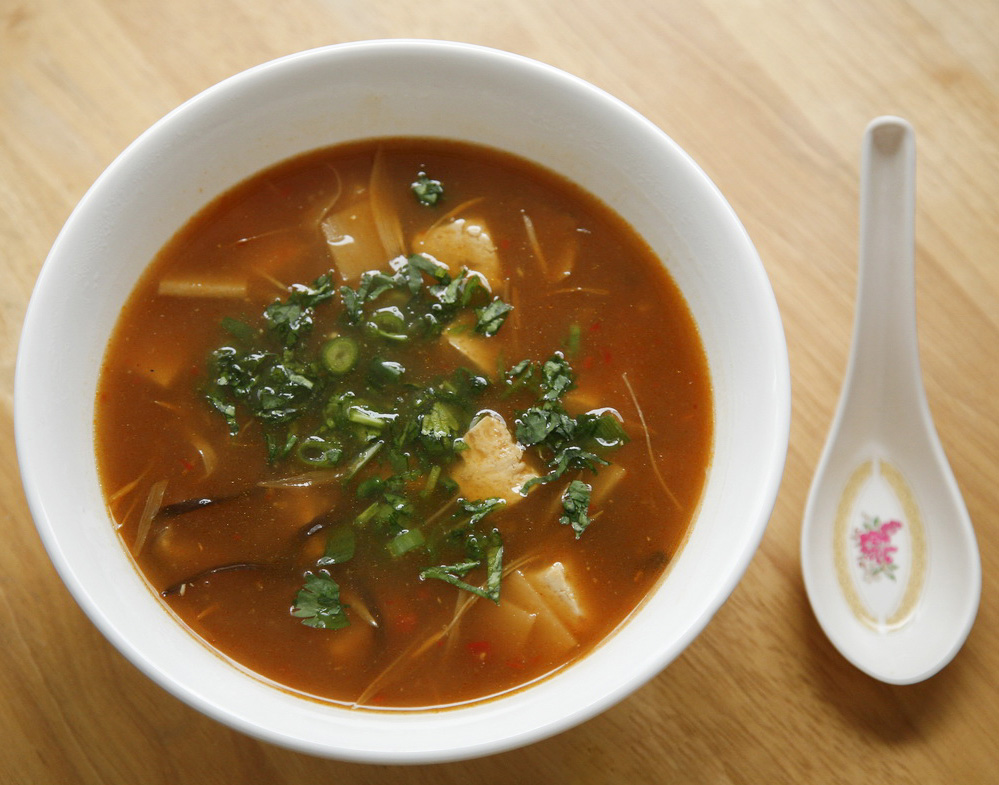 go vegan meow!: Hot and Sour Soup