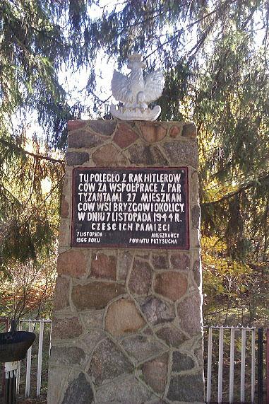 Pomnik pomordowanych w Nowinkach. Foto. Radosław Nowek.