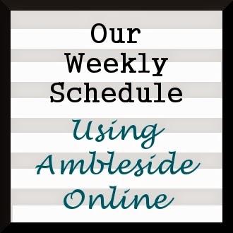 weekly schedule online