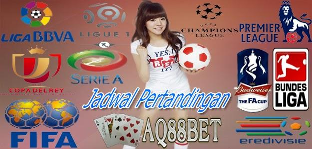 Agen Bola Indonesia - Jadwal Pertandingan 4 November 2014