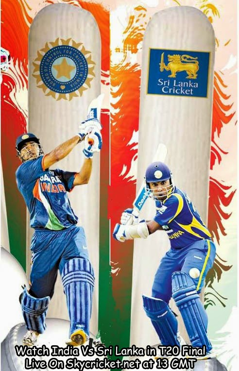 Watch India Vs Sri Lanka in Final of ICC World T20