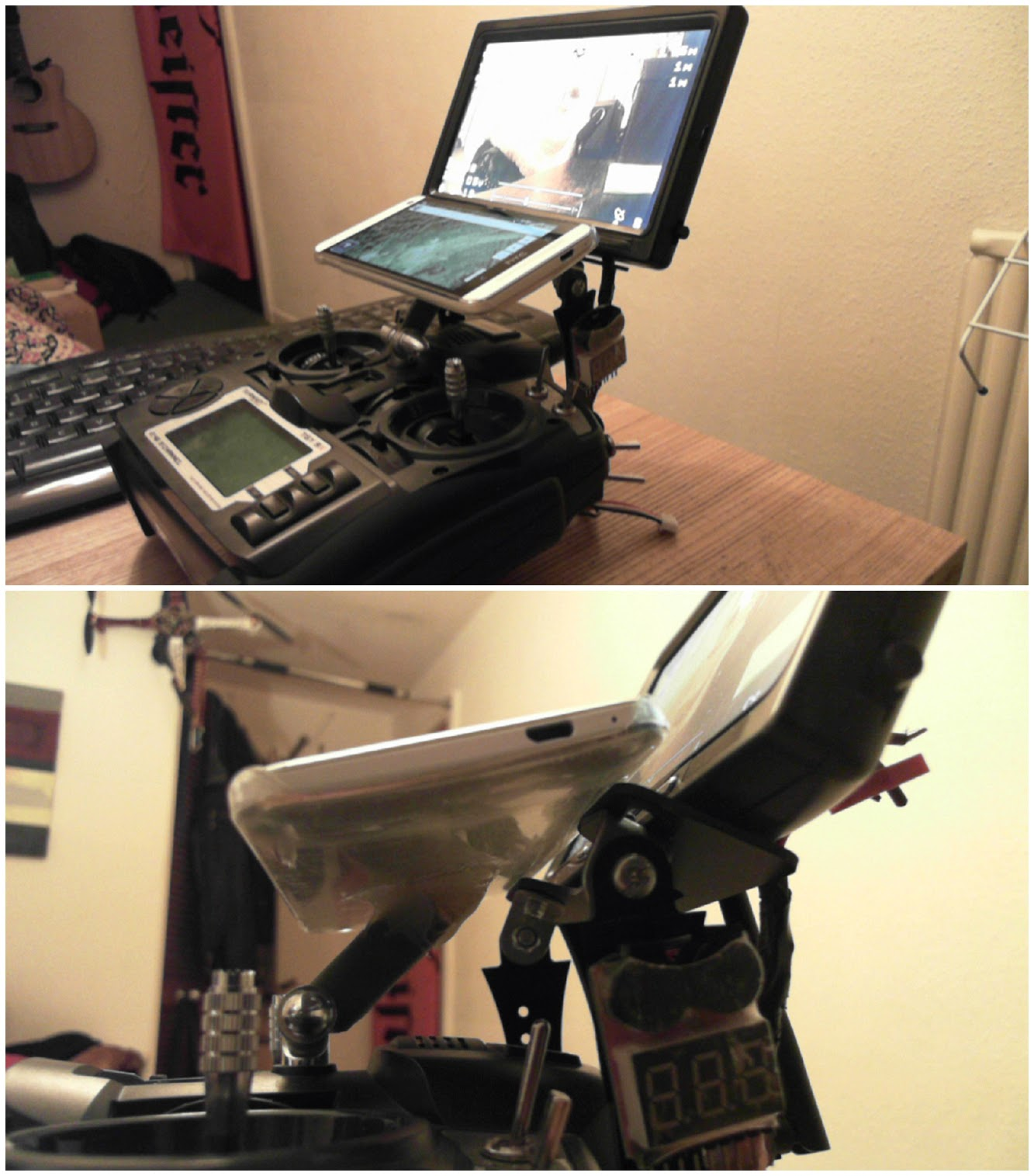 ghetto fpv monitor on steroids dalybulge